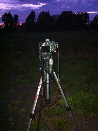 Timelapse am Abend