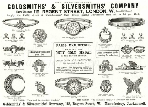 British advertisements ~ 1889.
