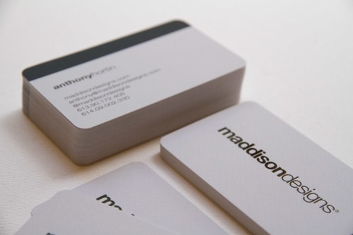 Maddison Designs business cards