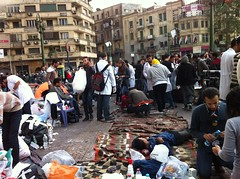 The clinics are the first stop for those injured in confrontations with security forces