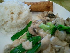 Moo Goo Gai Pan @ Mr Chen's Chinese Cooking