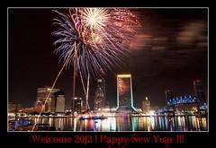 HAPPY NEW YEAR -2012 Jax Fireworks