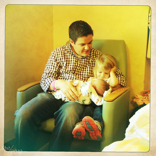 """January 20 -- Matt and his girls • <a style=""""font-size:0.8em;"""" href=""""http://www.flickr.com/photos/7983687@N06/6752746197/"""" target=""""_blank"""">View on Flickr</a>"""