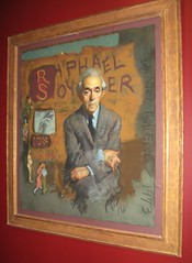 Portrait of Raphael Soyer by Daniel Greene