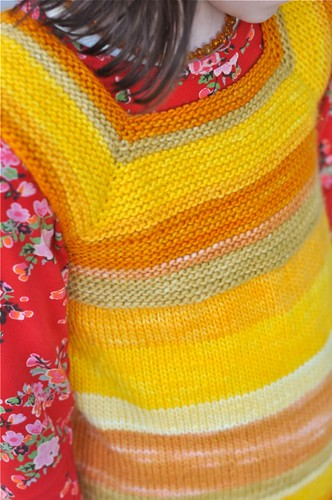 knitting milo waldorf merino vest worsted steiner tikki... (Photo: waldorf mama on Flickr)