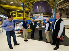 NASA Deputy Visits Blue Origin (201112080001HQ)