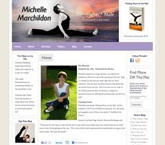 Michelle Marchildon - The Yogo Muse - Web Design