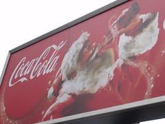 Coca Cola - Christmas is here - billboard - Gr...
