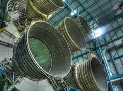 Kennedy Space Center Rocket Engine