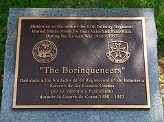 65th Infantry Regiment memorial  - Arlington N...