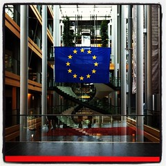 European Parliament Stairs
