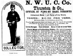 Vintage Ad #1,807: The Dapper Debt Collector