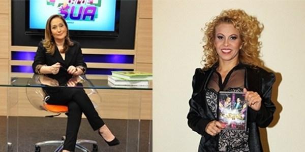 Sônia Abrão leva susto e interrompe programa ao vivo na Rede TV!