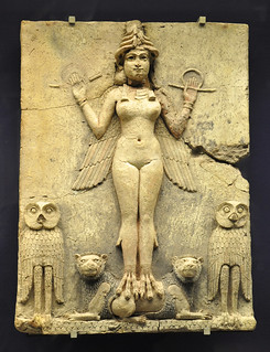 The Queen of the night, relief, 1800-1750 BC.