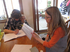 Homeschooling - Gustoff family in Des Moines 011