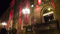 Filmhouse at night