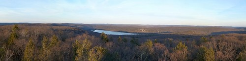 Sterling Lake from the fire tower