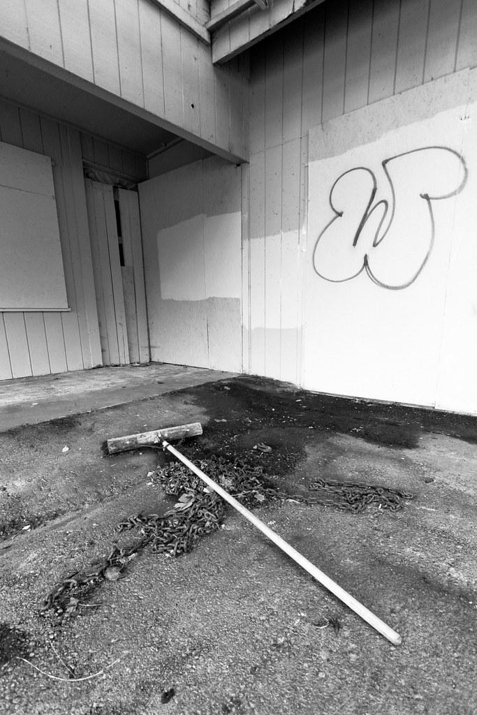 Forgotten broom