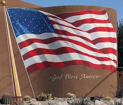 America God Bless Flag