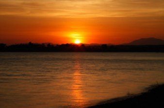 Sunset at Kabini River by VinothChandar, on Flickr