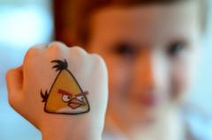 Angry Bird Fist