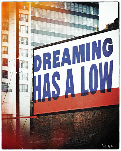 Dreaming Has A Low