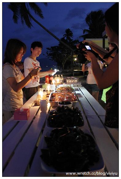 [泰國]蠋光搖曳.豐盛海鮮BBQ~班文明度假村 @VIVIYU小世界