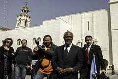 Kofi Annan enjoying his trip to Syria