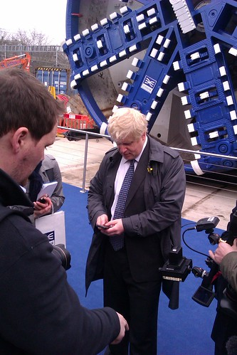 Boris Johnson Texting