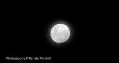 Moon over Ribeirão Preto