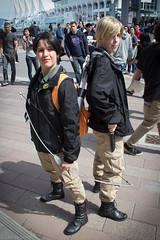 Katniss & Peeta - Vancouver Fan Expo 2012