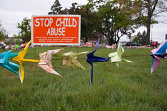 A Crane for Each Child; Students Seek End to C...