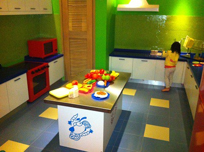 Kidzania Residential - kitchen