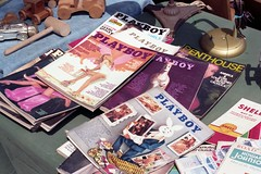 Old Playboy Magazines, Brooklyn Flea, Fort Greene