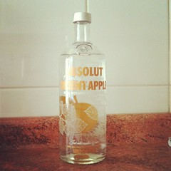 Absolut Orient Apple!