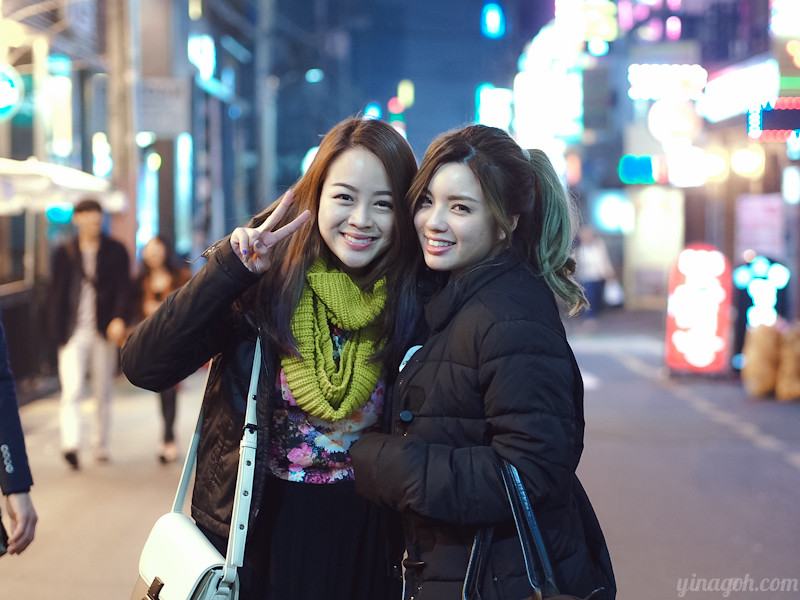 Yina and Evonne