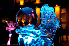 Ice Sculptures at Illuminate Yaletown 2012