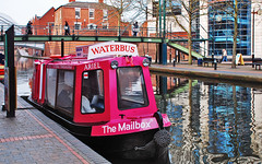Mailbox Waterbus, Birmingham UK