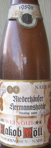 Niederhausen Riesling natur 1959