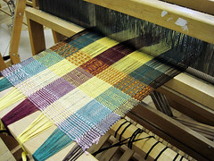 Weaving Project in Progress