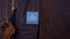 "Morgentau auf dem Locus Gear Khufu Sil Shelter • <a style=""font-size:0.8em;"" href=""http://www.flickr.com/photos/61712293@N03/7289365214/"" target=""_blank"">View on Flickr</a>"