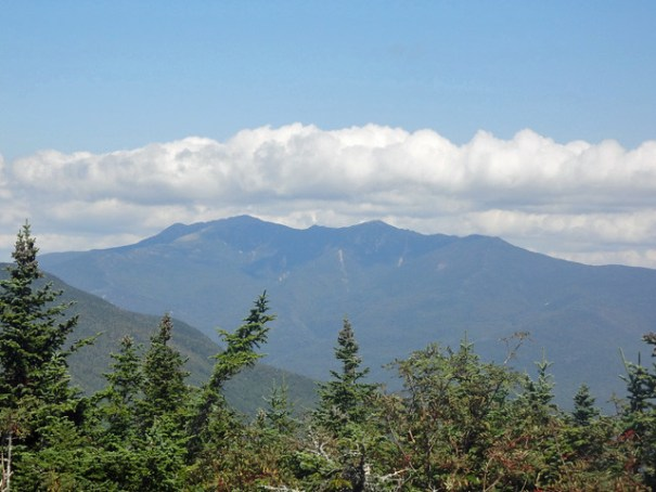 Mt. Wolf view of Franconia Ridge on NH Appalachian Trail