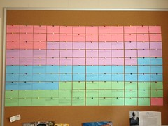 Colored Index Cards