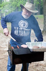 "Pete/K6BFA at the grill • <a style=""font-size:0.8em;"" href=""http://www.flickr.com/photos/54494252@N00/7161945790/"" target=""_blank"">View on Flickr</a>"