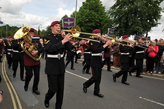 PARA Falklands 30 Mililtary Parade Aldershot 1...