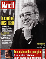 COUVERTURE DU PARIS MATCH N° 3038 DU 9 AOUT 20...