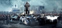 The Dark Knight Rises Bane banner