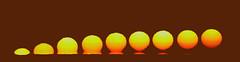 Omega Sunrise with Sunspot 1476