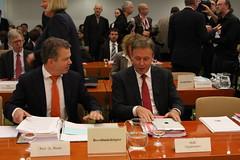 Verhandlung über das Bundestagswahlrecht vor d...