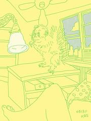031312 Living Room Monkey
